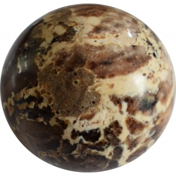 Bruine Opaal bol